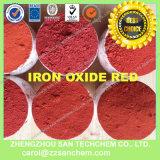 Pigmento de óxido de hierro de cemento en rojo amarillo negro verde azul
