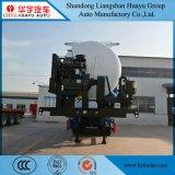 半30/40/50/60cbm蘇州の空気圧縮機が付いているバルクセメントの輸送のタンカーのトレーラー