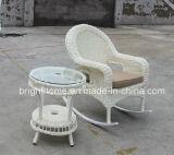PE Rattan Weaving Rocking ChairかLeisure Chairか庭Furniture (BP-261)