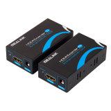 carica di 60m HDMI sopra il singolo cavo di Cat5e/6 UTP con la carica di 3D+Edid HDMI