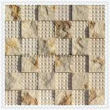 Het Gespleten 3D Marmeren Mozaïek van de aard voor de Muur van de Decoratie