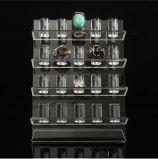 20의 PCS 반지를 위한 아크릴 보석 전시의 큰 4개의 층