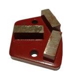 100# vínculo de metal da placa de moagem de diamante/ Ferramenta de moagem para piso de concreto