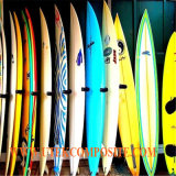 Tissu de fibre de verre de chaîne de la clarté 6oz pour la planche de surfing
