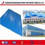 Strato ondulato preverniciato del tetto di PPGI per la Camera d'acciaio