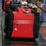Benzin-Energien-Generator des bewegliches elektrisches Anfangs3kva/3kw luftgekühlter mit Rädern
