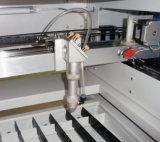 Gravura do laser do CO2 do CNC e máquina de estaca para a estaca de madeira de couro acrílica do metal
