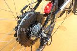 36V 10ahのリチウム電池の市道のモーターを備えられた電気バイクEの自転車のスクーターShimano内部3speed