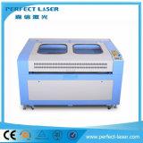 Cw3000 물 냉각장치 (PEDK-13090)를 가진 아크릴 가죽 직물 의복 Laser 절단기