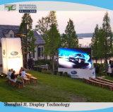 Instalación fija P10 en la pantalla LED para publicidad exterior vallas Digital