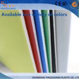 Alto comitato di parete di timbratura caldo bianco lucido del PVC