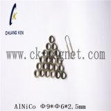 Ck-202 Características imán AlNiCo Φ 9*6*2,5 mm de φ