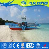 판매를 위한 배 또는 호수 위드 수확기를 채초해 조류