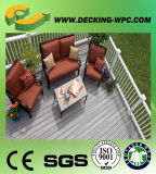 Le bois composite en plastique bon marché Eco Friendly WPC Decking