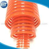 Personalizado de alta presión de plástico de PVC reforzado en espiral la manguera de descarga de succión