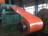 Color Pre-Painted PPGI recubierto bobina de acero galvanizado de pared techo