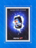 LED de la publicité de trame Cafe affichage Transparent