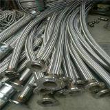 Tubo flessibile metallico ondulato Braided dell'acciaio inossidabile da 4 pollici