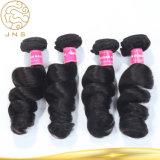 安く黒いベストセラーのブラジルのバージンの人間の毛髪の織り方