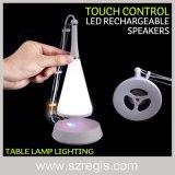 Alto-falantes estéreo com alto-falante estéreo recarregável e LED com controle de toque