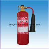 Extintor de incêndio convexo de alta pressão do CO2 da parte inferior 2kg para o aço de liga (cilindro: EN1964-1)