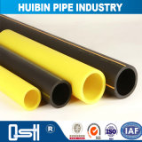 ティーが付いている黒い耐久のプラスチック製品のPEの管