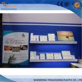 3mm dünnes Weiß Belüftung-freies Schaumgummi-Polystyren-Blatt für das Bekanntmachen