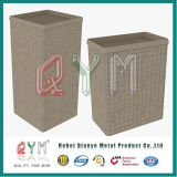 Cesta galvanizada soldada de Gabion/fabricante quadrado do preço da caixa de Gabion