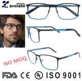 Oculos Italien Entwurf deutscher Fullrim schwarzer Metallgroßverkauf-Rahmen Eyewear