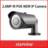 câmera impermeável do IP da segurança do CCTV da bala de 2.0MP WDR IR