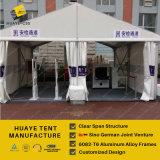 20X15mの白いPVCサイドウォールが付いている屋外の会議のテント