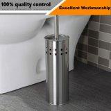 Les mesures sanitaires dessin carré en acier inoxydable brosse wc titulaire fournisseur