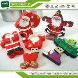 Movimentação do flash do USB de Papai Noel para o Natal