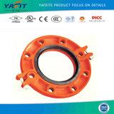 Rachar-Classe Grooved 150 da flange do ferro Ductile padrão da aprovaçã0 de FM/UL/Ce