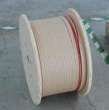 Nomexは長方形か平らなアルミニウムアルミニウムワイヤーを覆った