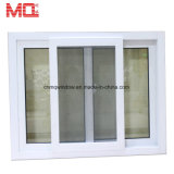 Ultima finestra di scivolamento del vinile di vetratura doppia a buon mercato UPVC di disegno