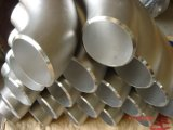 A soldadura de extremidade do aço inoxidável 316 soldou 90 graus LR cotovelo de 18 polegadas