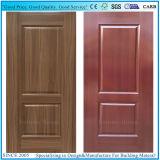 Peau intérieure de modèle neuf/extérieure décorative de porte de mélamine de HDF