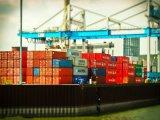 A logística do Oceano fiável da China em Libreville, no Gabão