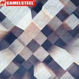 El grano de madera prepintó la bobina de acero galvanizada de PPGI