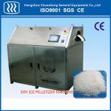 Blocco di ghiaccio asciutto industriale che fa macchina