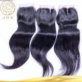 中国の卸し売り未加工自然で安いインドのバージンのまっすぐな人間の毛髪のよこ糸