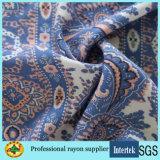 Custom IMPRIMÉ Tissu de rayonne de tissus à armure toile pour vêtements en tissu