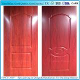 Piel interior del nuevo diseño/exterior decorativa de la puerta de la melamina de HDF