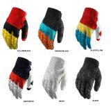 Nuovi guanti neri di motocross della bici della sporcizia della srl per il cavaliere (MAG20)