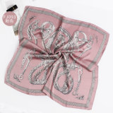 Nova Ocupação Cachecol Seda cetim de seda lenço decorativas