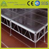 Estágio portátil de alumínio atividade ao ar livre/interna do equipamento do estágio