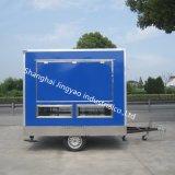 中国の製造者のステンレス鋼の移動式食糧トラック/屋外のコーヒーカート/ホットドッグの移動式食糧トレーラー