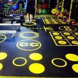 Плитка настила гимнастики резиновый для поднятия тяжестей