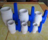 De plastic ABS UPVC Klep van de Haan van de Hoek